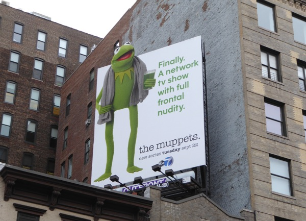 Muppets full frontal nudity billboard
