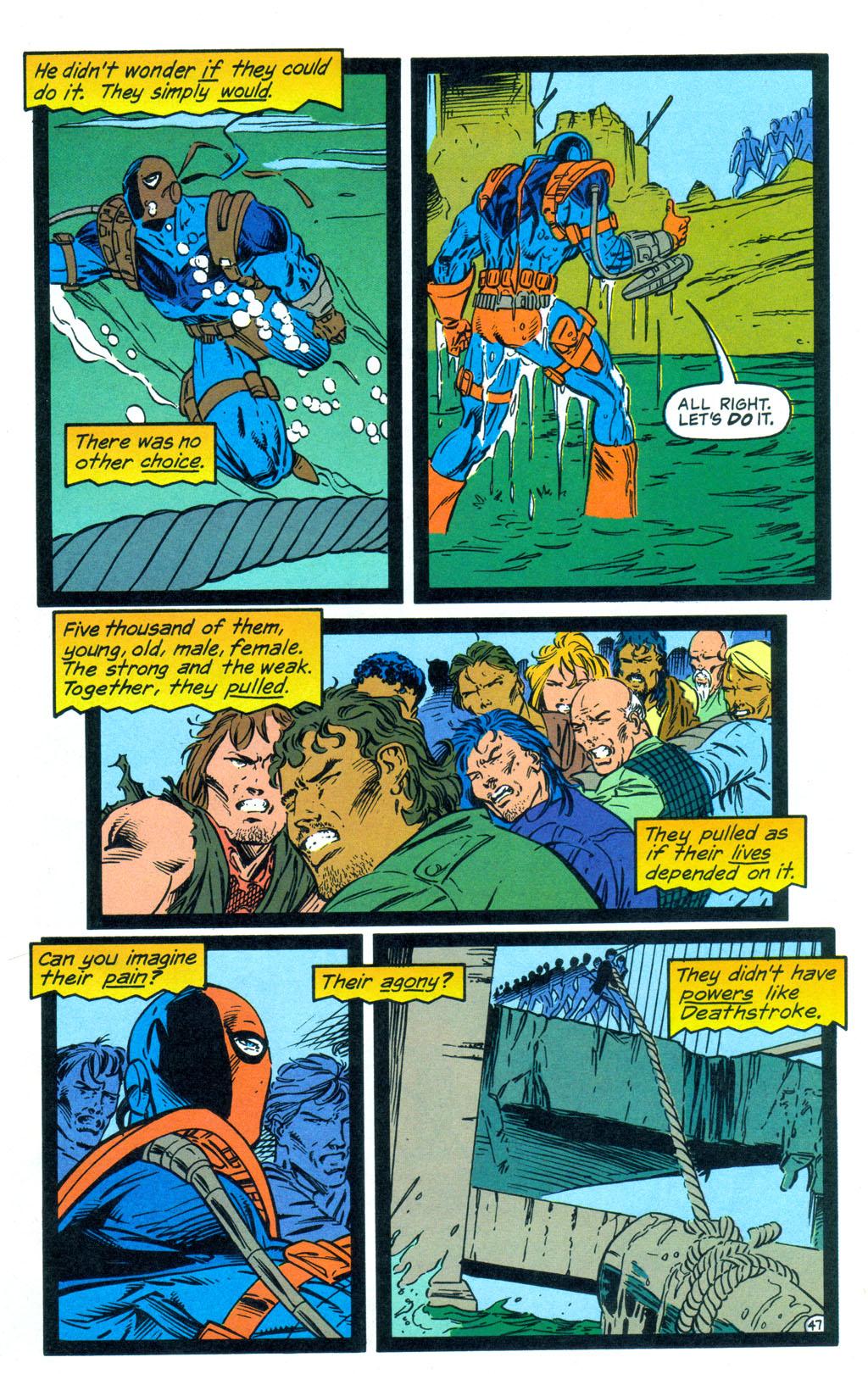 Deathstroke (1991) Annual 3 #3 - English 48