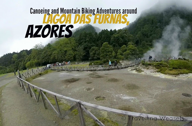 Canoeing and Mountain Biking Adventures around Lagoa das Furnas