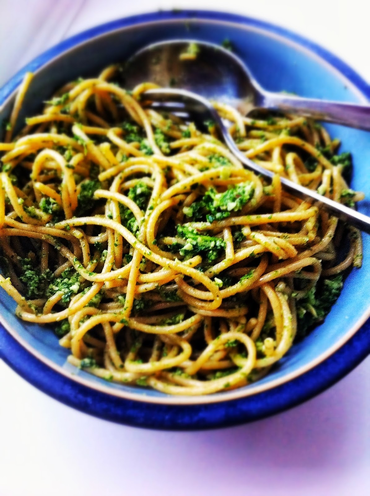 kale and brazil nut pesto