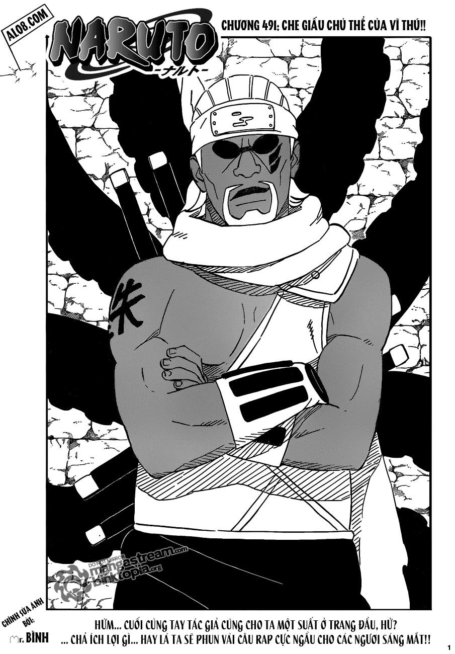Naruto chap 491 Trang 1 - Mangak.info