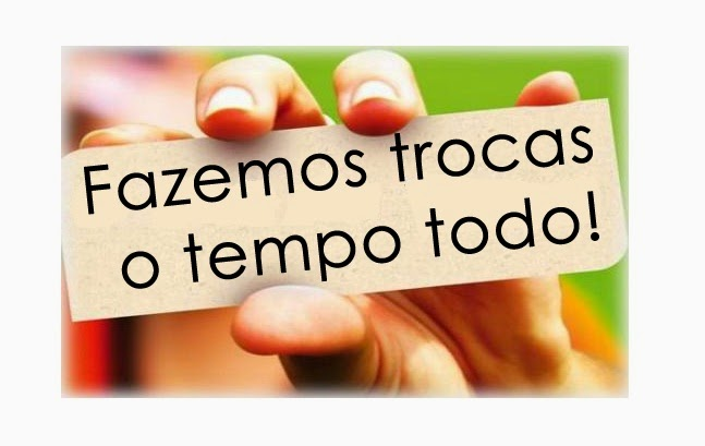 """Participem do Grupo """"Troca de Tudo/Permutas:   https://www.facebook.com/groups/274335619443235"""
