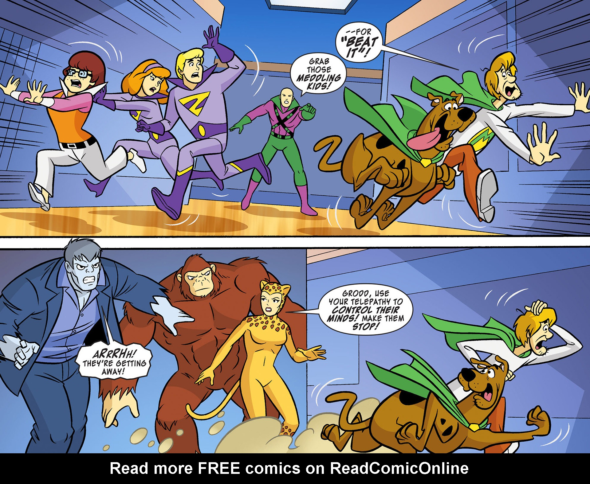 Read online Scooby-Doo! Team-Up comic -  Issue #12 - 5