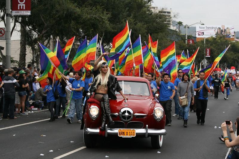 Gaga for WEHO Gay Pride 2011