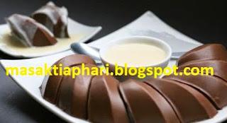 puding coklat lembut enak