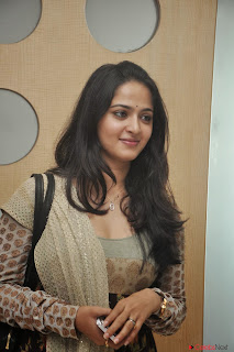 Actress Anushka Shetty Latest Pictures at Teach Aids Press Meet  0031