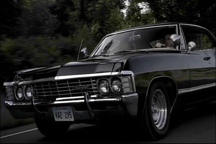 carros envenenados chevy impala 67 supernatural s ra. Black Bedroom Furniture Sets. Home Design Ideas