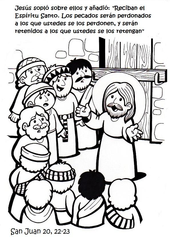 Moderno Colorear Discípulos De Jesús Embellecimiento - Dibujos Para ...