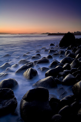 beach photography rocks