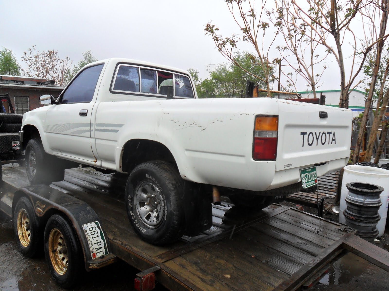 new arrivals at jim 39 s used toyota truck parts 1991 toyota pickup 4x4. Black Bedroom Furniture Sets. Home Design Ideas