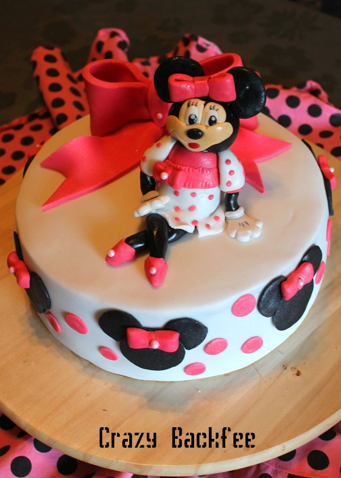 crazy backno minnie mouse torte. Black Bedroom Furniture Sets. Home Design Ideas