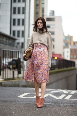 style next door - FLORAL SKIRT