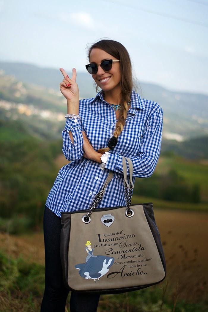 outfit camicia quadri