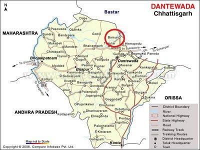 Barsur Map