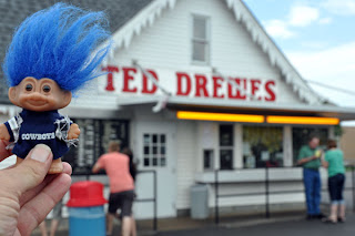 Route 66 Ted Drewes Frozen Custard Troll