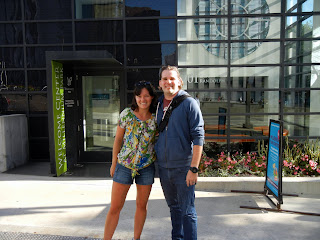Matthan Black and I in downtown Chicago, Illinois