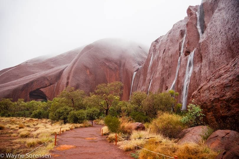Ayers Rock Waterfall | Uluru Waterfall