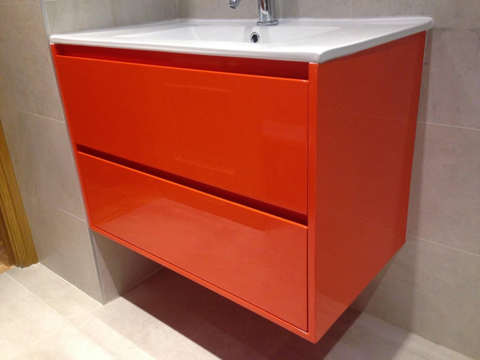 Muebles De Bano Naranja.Pagoa Carpinteria Zurgindegia