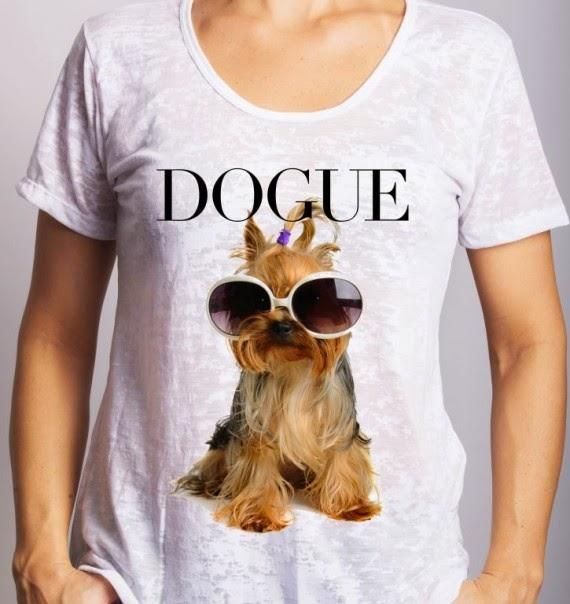 Camiseta da moda