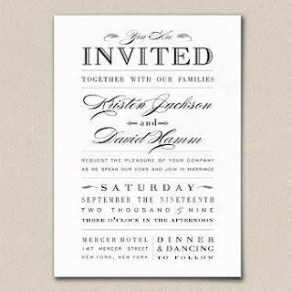 Black wedding invitations funny wedding invitation wording for Some funny wedding invitations