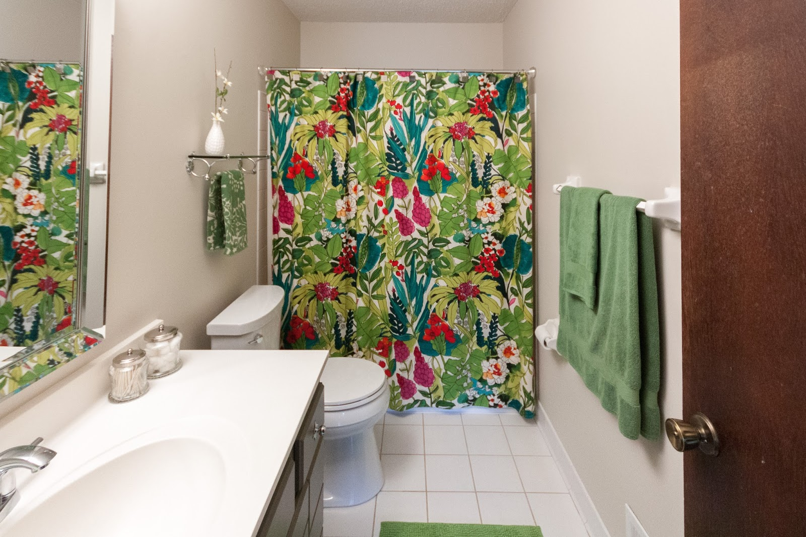 So Much Brighter Than The Dark Tan Shower Curtain Is Fiji Style From World Market I Cant Find It On Website