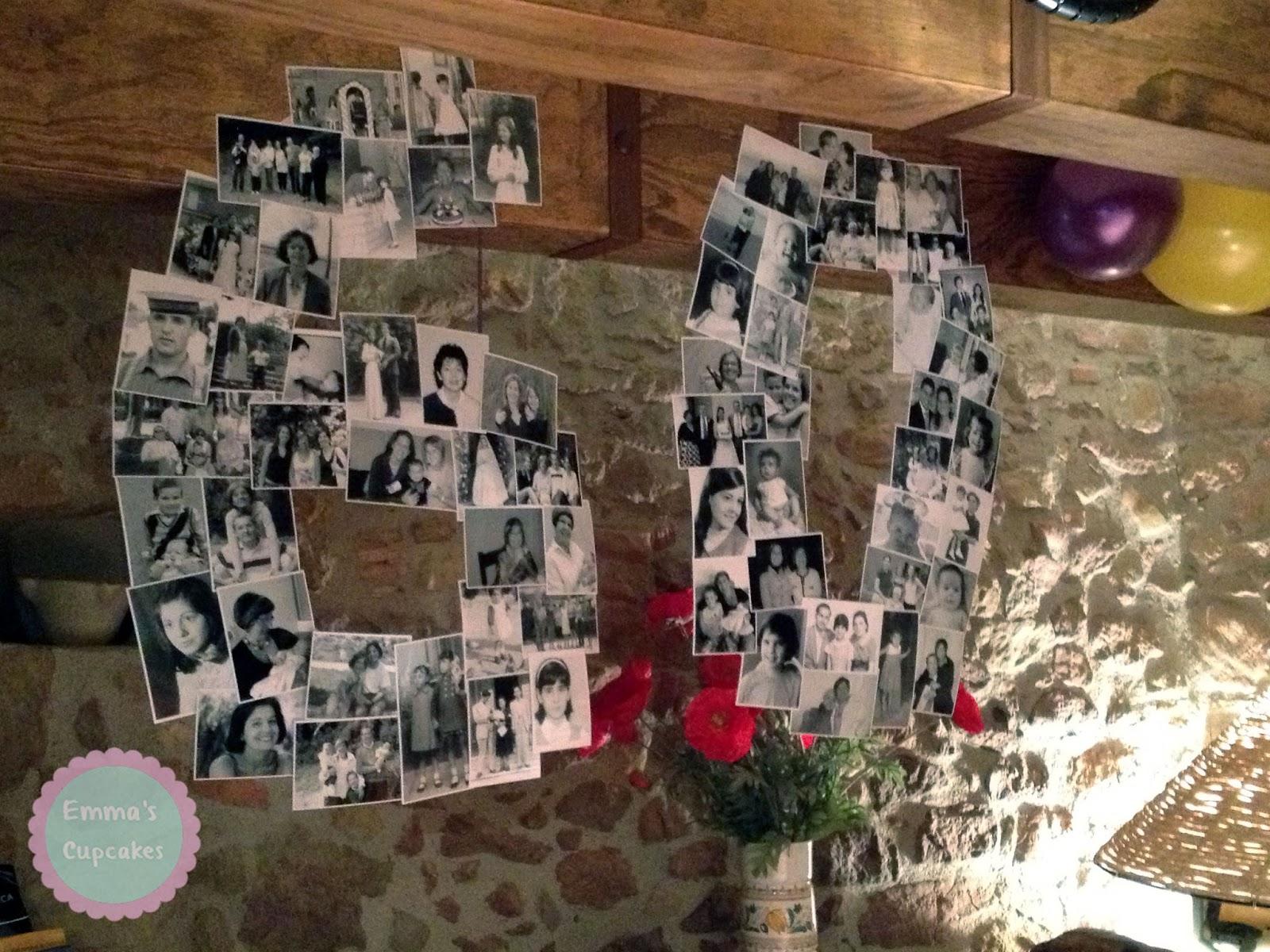 Emma 39 s cupcakes fiesta de 60 cumplea os y decoraci n para for Decoracion fiesta anos 60