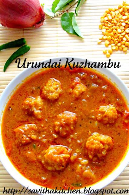 Urundai Kuzhambu