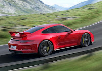 Porsche 911 GT3 (2013) Rear Side 2