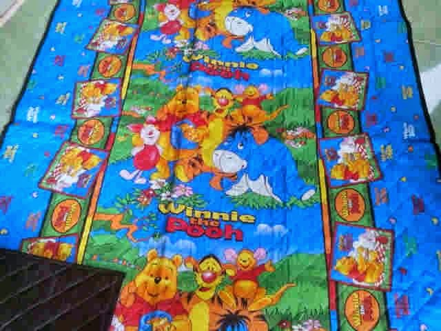 grosir tikar quilting winni the pooh