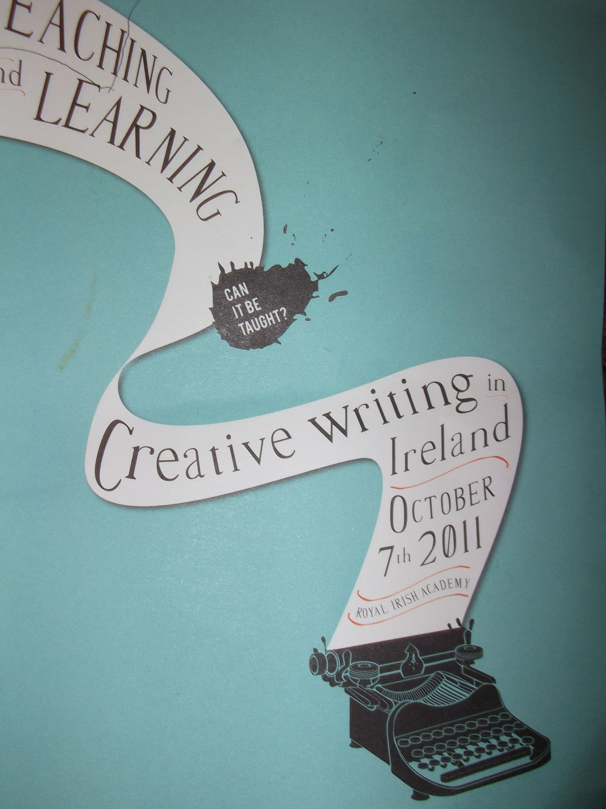 can creative writing be taught