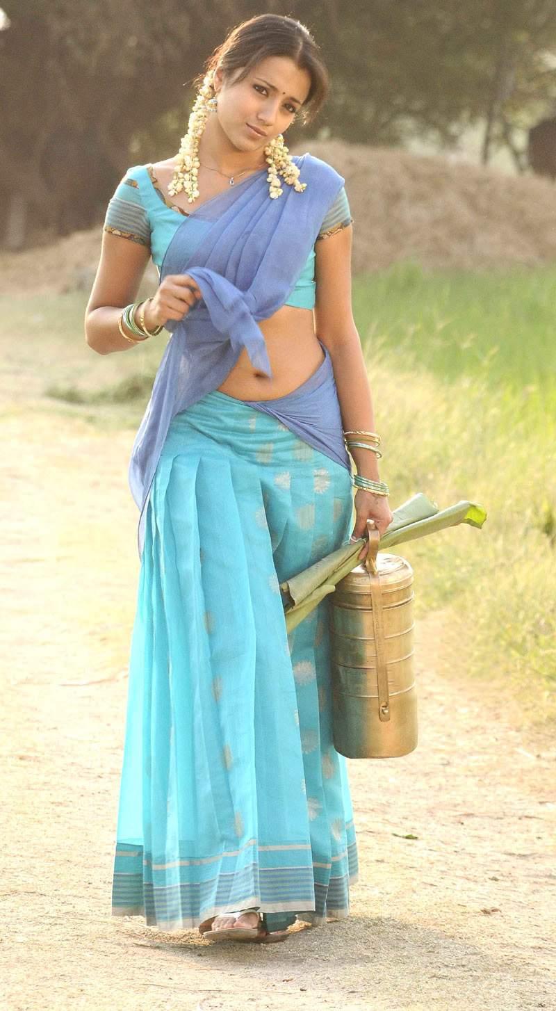 LOW HIP SAREE-SOUTH - (VERY HOT) | Actress In Low Hip Saree
