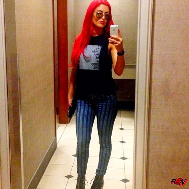 New Eva Marie Selfie.
