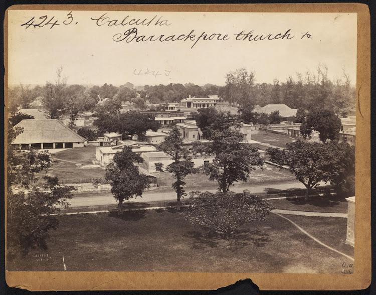 Barrackpore Church Near Calcutta ( Kolkata ) -  Mid 19th Century