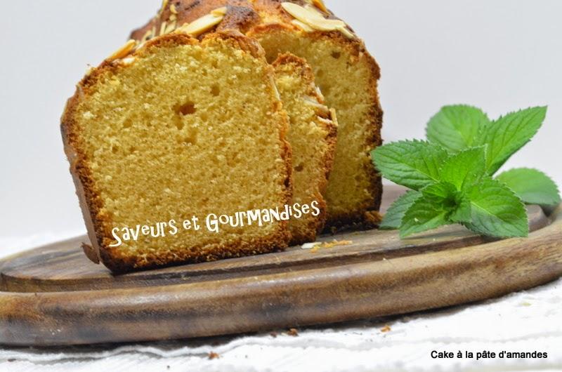 Cake à la Pâte d'Amandes et à la Fleur d'Oranger.