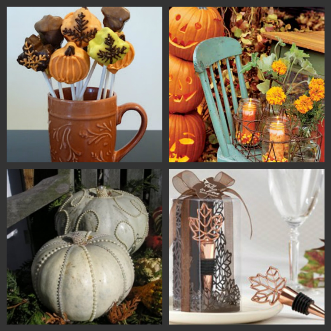 Fall Themed Wedding Shower Ideas