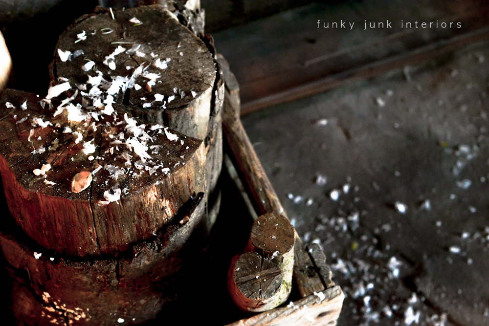 Coca cola christmas fireplace mantelfunky junk interiors for Funky junk home decor newfoundland