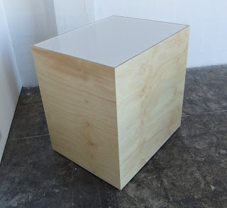 Plywood plinth