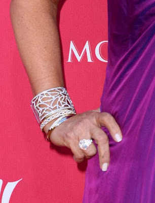 Kris Jenner Diamond Ring