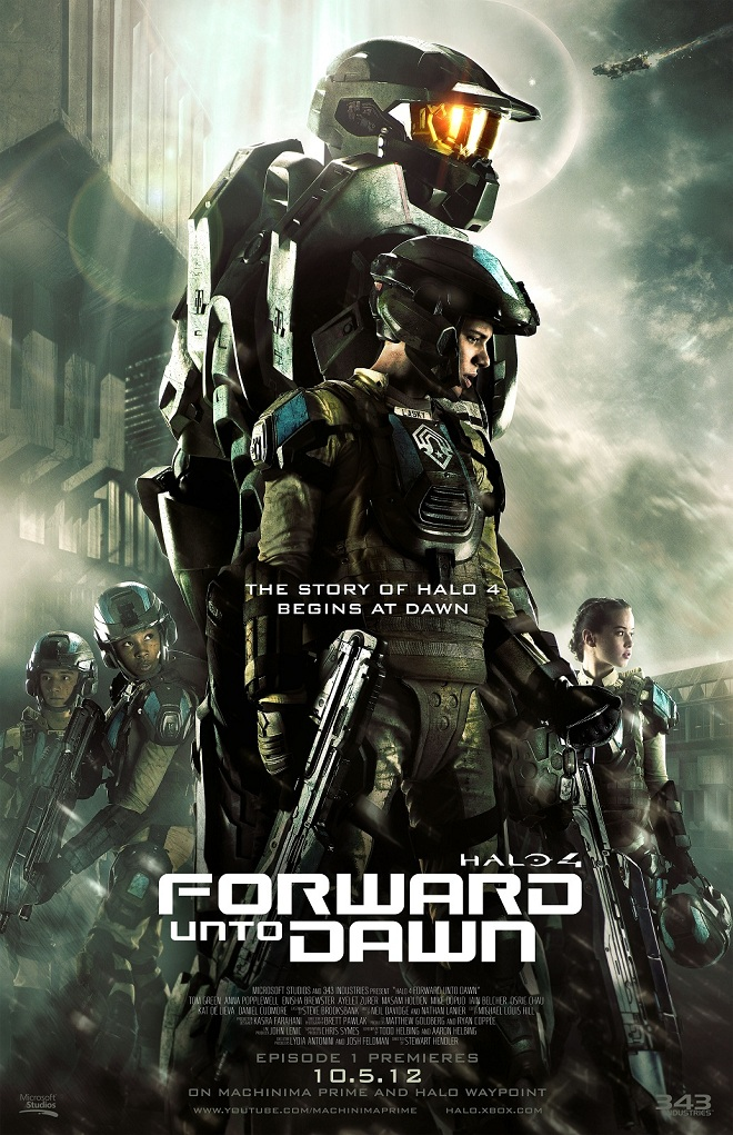 Forward Unto Dawn Movie Poster