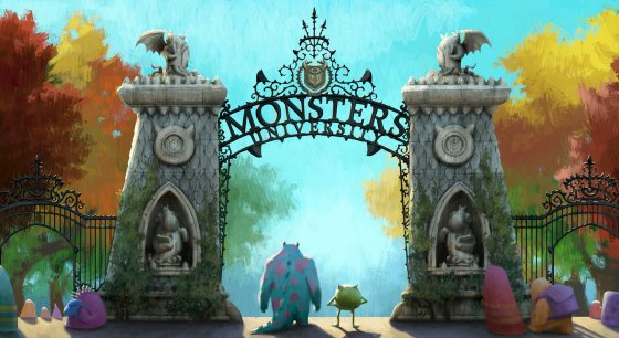 Gateway Monsters University 2013 animatedfilmreviews.blogspot.com