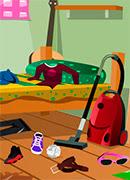 Беспорядок в комнате - Онлайн игра для девочек