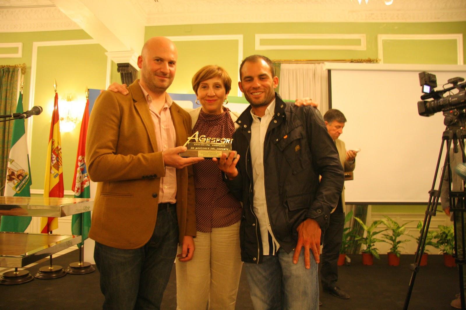 Premio agesport delegaci n de deportes de do a menc a - Fotos de dona mencia ...
