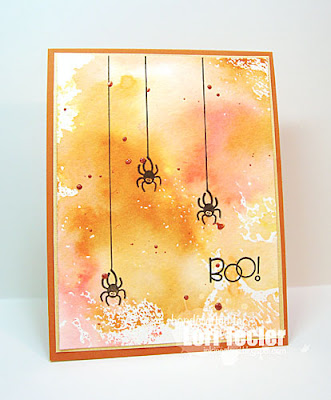 Boo! card-designed by Lori Tecler/Inking Aloud-stamps from Paper Smooches