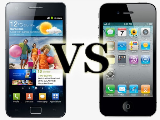iPhone 4S vs Samsung Galaxy SII