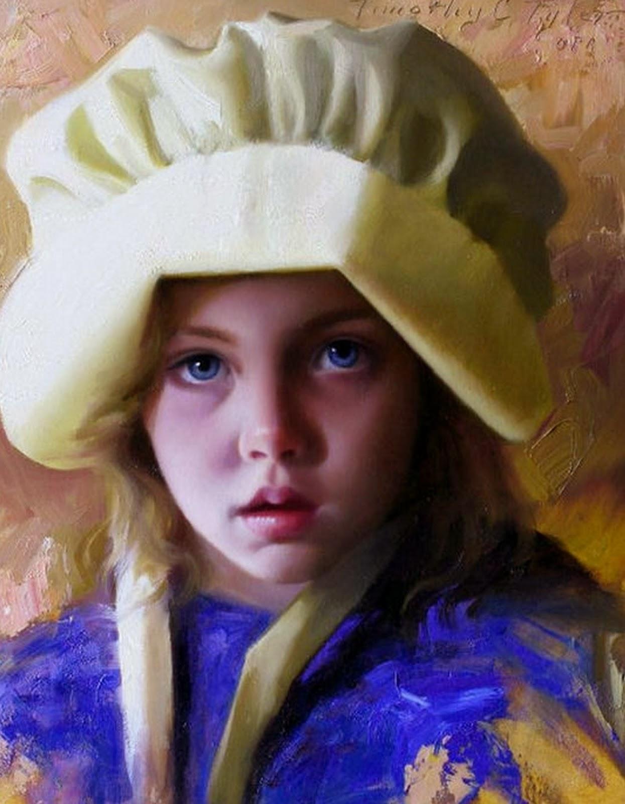 retratos-de-niñas-con-frutas