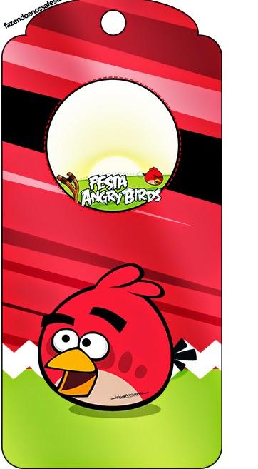 Para marcapáginas de Angry birds.