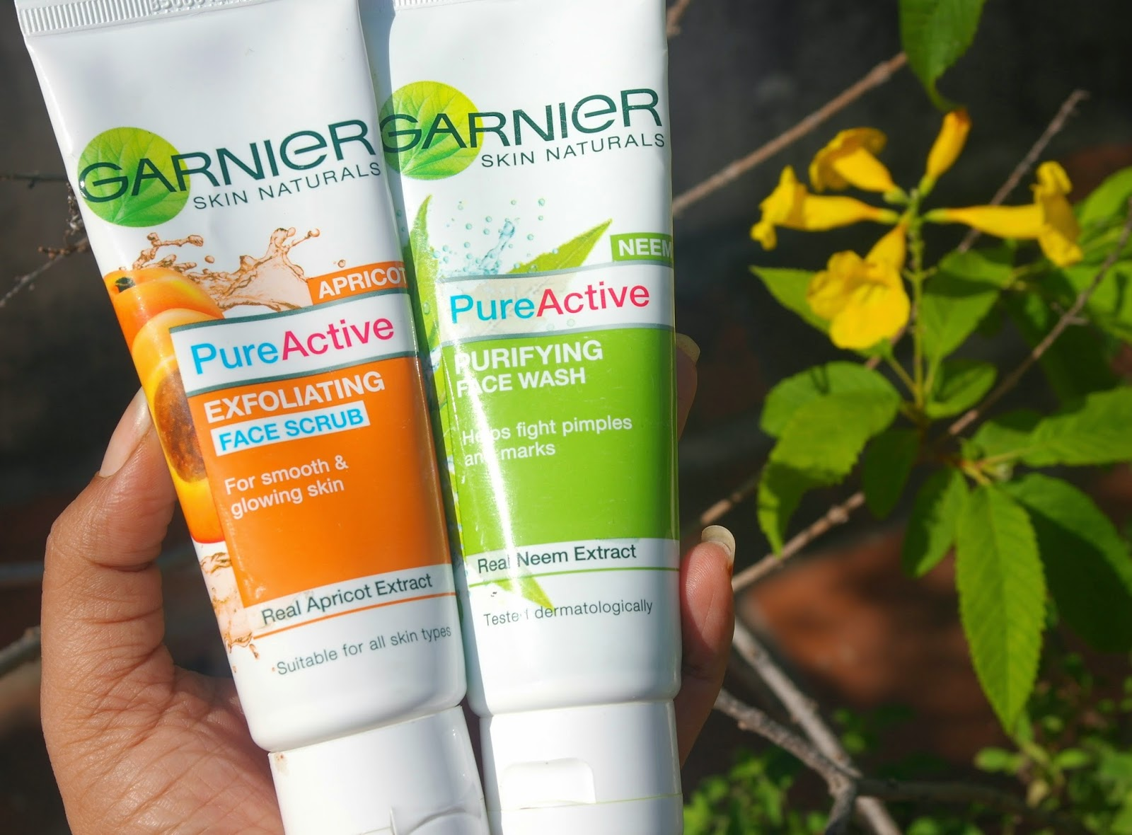 garnier skincare products review