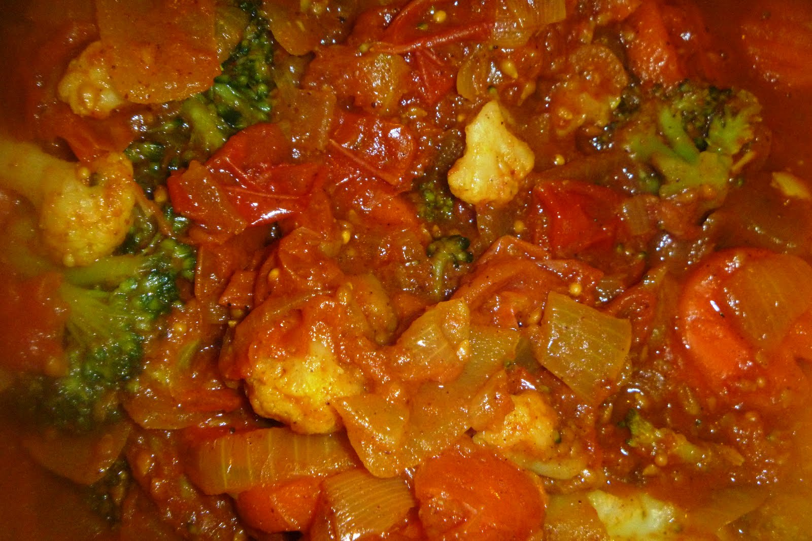 The Vegetarian Experience: Tomato Curry with Coconut Rice