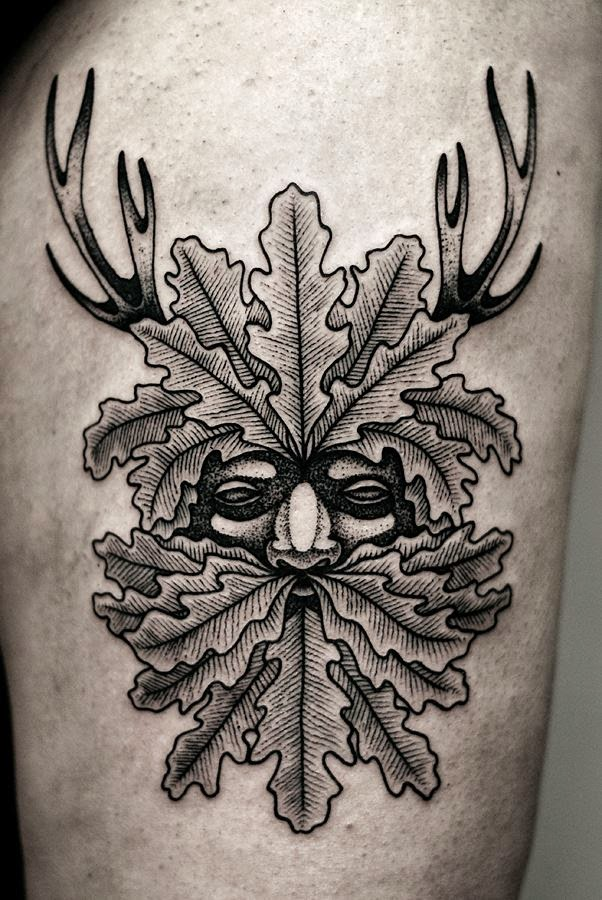 Elegant Black and Grey Tattoos