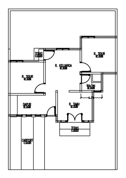 seputar dunia rumah rumah minimalis dilahan 9x13 m2